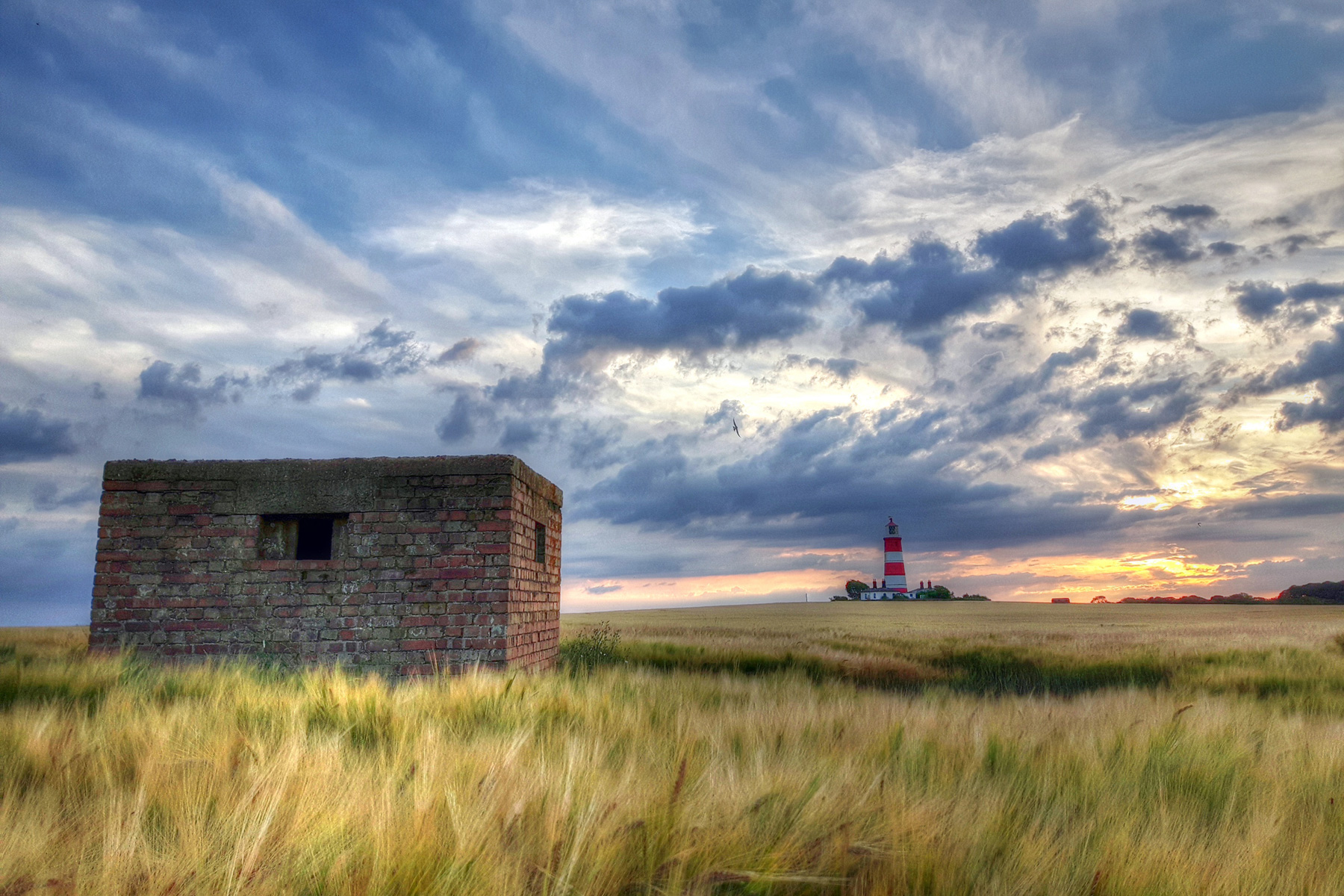Sunset Happisburgh Lighthouse